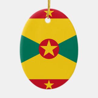 Adorno De Cerámica ¡Bajo costo! Bandera de Grenada