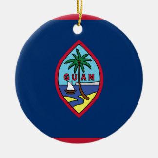 Adorno De Cerámica ¡Bajo costo! Bandera de Guam