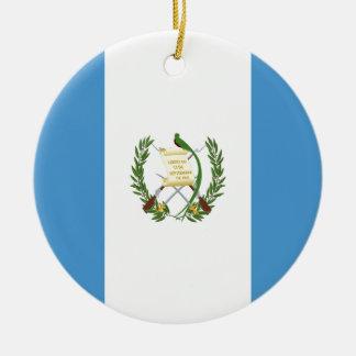 Adorno De Cerámica ¡Bajo costo! Bandera de Guatemala