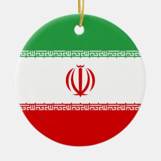 Adorno De Cerámica ¡Bajo costo! Bandera de Irán