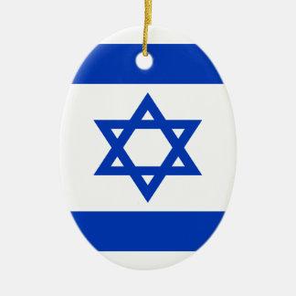 Adorno De Cerámica ¡Bajo costo! Bandera de Israel