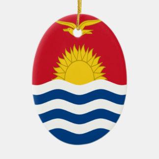 Adorno De Cerámica ¡Bajo costo! Bandera de Kiribati