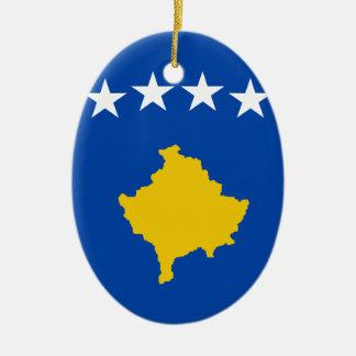 Adorno De Cerámica ¡Bajo costo! Bandera de Kosovo