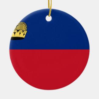 Adorno De Cerámica ¡Bajo costo! Bandera de Liechtenstein