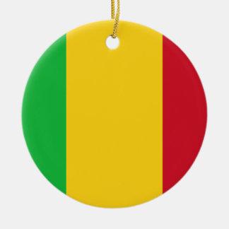 Adorno De Cerámica ¡Bajo costo! Bandera de Malí