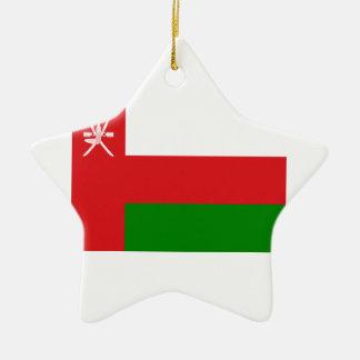 Adorno De Cerámica ¡Bajo costo! Bandera de Omán