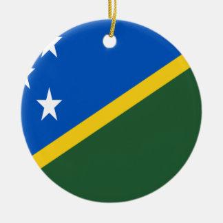 Adorno De Cerámica ¡Bajo costo! Bandera de Solomon Island