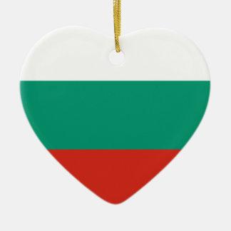 Adorno De Cerámica Bandera búlgara