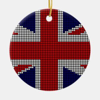Adorno De Cerámica Bandera de británicos de la bandera del Union Jack