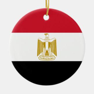 Adorno De Cerámica Bandera de Egipto