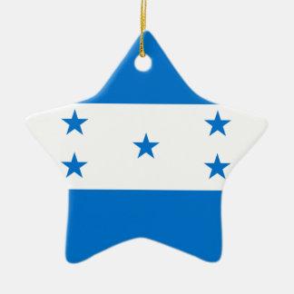 Adorno De Cerámica Bandera de Honduras - Bandera Hondureña de