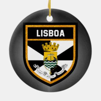 Adorno De Cerámica Bandera de Lisboa