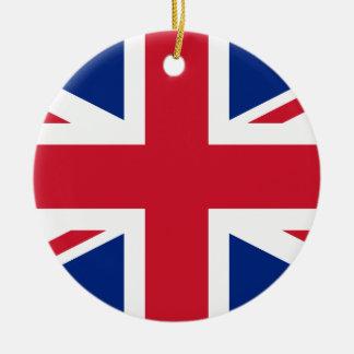 Adorno De Cerámica Bandera de Reino Unido