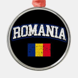 Adorno De Cerámica Bandera de Rumania