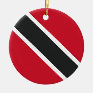 Adorno De Cerámica Bandera de Trinidadtobago
