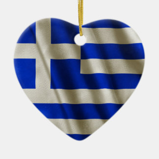 Adorno De Cerámica Bandera griega