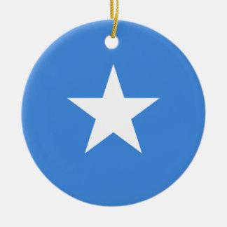 Adorno De Cerámica Bandera nacional del mundo de Somalia