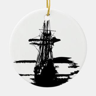 Adorno De Cerámica barco pirata