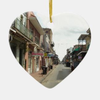 Adorno De Cerámica Barrio francés de New Orleans