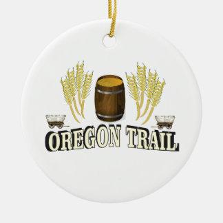 Adorno De Cerámica bendición del rastro de Oregon