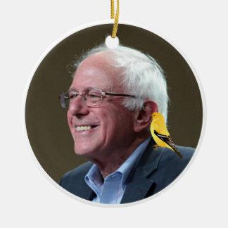 Adorno De Cerámica Bernie y pájaro