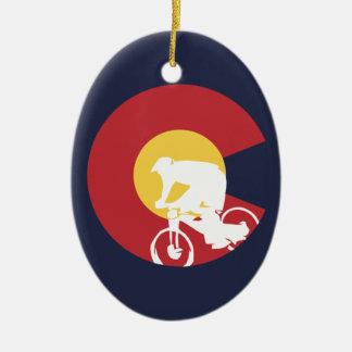 Adorno De Cerámica Bici de montaña Colorado