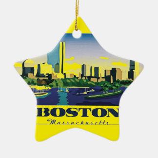 Adorno De Cerámica Boston, Massachusetts