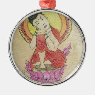 Adorno De Cerámica Buda pacífico