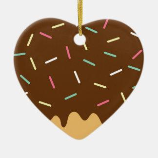 Adorno De Cerámica Buñuelo del chocolate