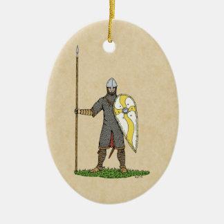 Adorno De Cerámica Caballero normando, circa 1066