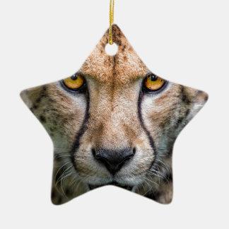 Adorno De Cerámica Cabeza del guepardo