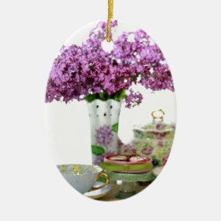 Adorno De Cerámica Calendario 2018 del tiempo del té