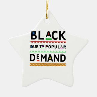 Adorno De Cerámica Camiseta de Afrocentric