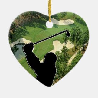 Adorno De Cerámica Campo de golf