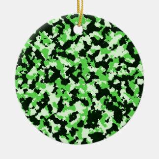 Adorno De Cerámica Camuflaje verde