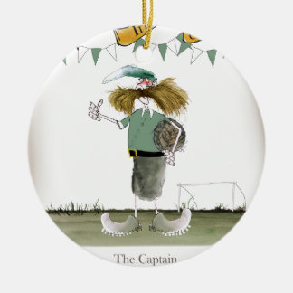 Adorno De Cerámica capitán irlandés del fútbol