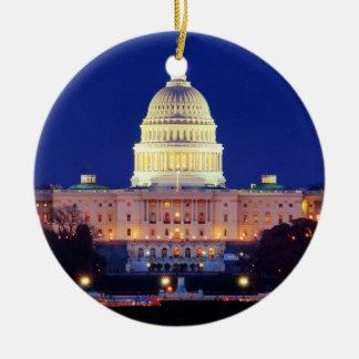 Adorno De Cerámica Capitolio de Estados Unidos del Washington DC en