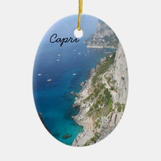 Adorno De Cerámica Capri, Italia