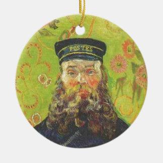 Adorno De Cerámica Cartero José Roulin - Vincent van Gogh del retrato