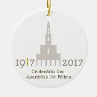 Adorno De Cerámica Centenário das Aparições de Fátima - Portugal