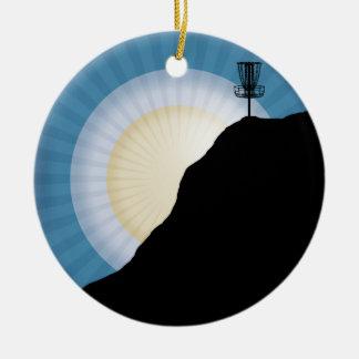 Adorno De Cerámica Cesta en una montaña