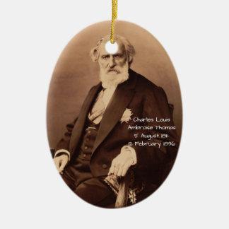Adorno De Cerámica Charles Louis Ambroise Thomas