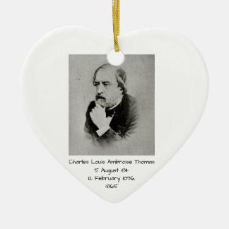 Adorno De Cerámica Charles Louis Ambroise Thomas 1865