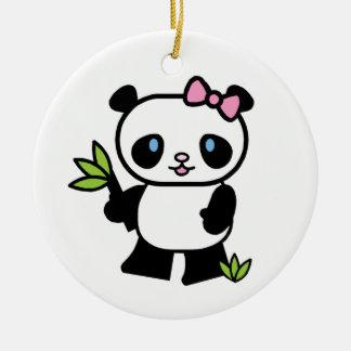 Adorno De Cerámica Chica de la panda de Lil