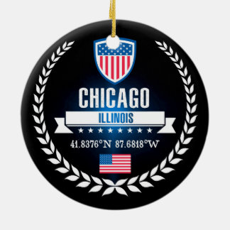 Adorno De Cerámica Chicago