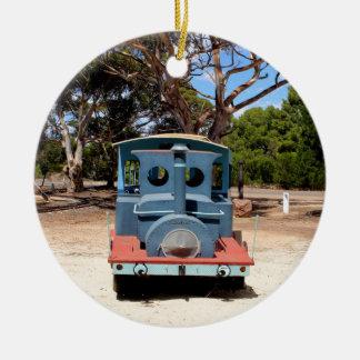 Adorno De Cerámica Chicloso, locomotora 2 del motor del tren