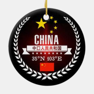 Adorno De Cerámica China