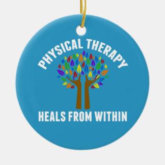 Adorno De Cerámica Cita inspirada hermosa de la terapia física
