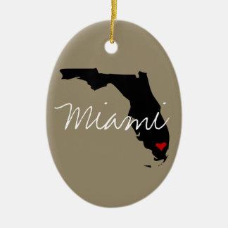 Adorno De Cerámica Ciudad de la Florida