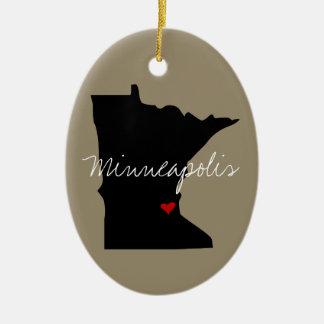 Adorno De Cerámica Ciudad de Minnesota